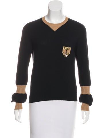 Chanel Coco Cashmere Sweater None