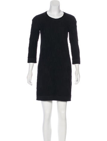 Chanel Knit Wool Dress None