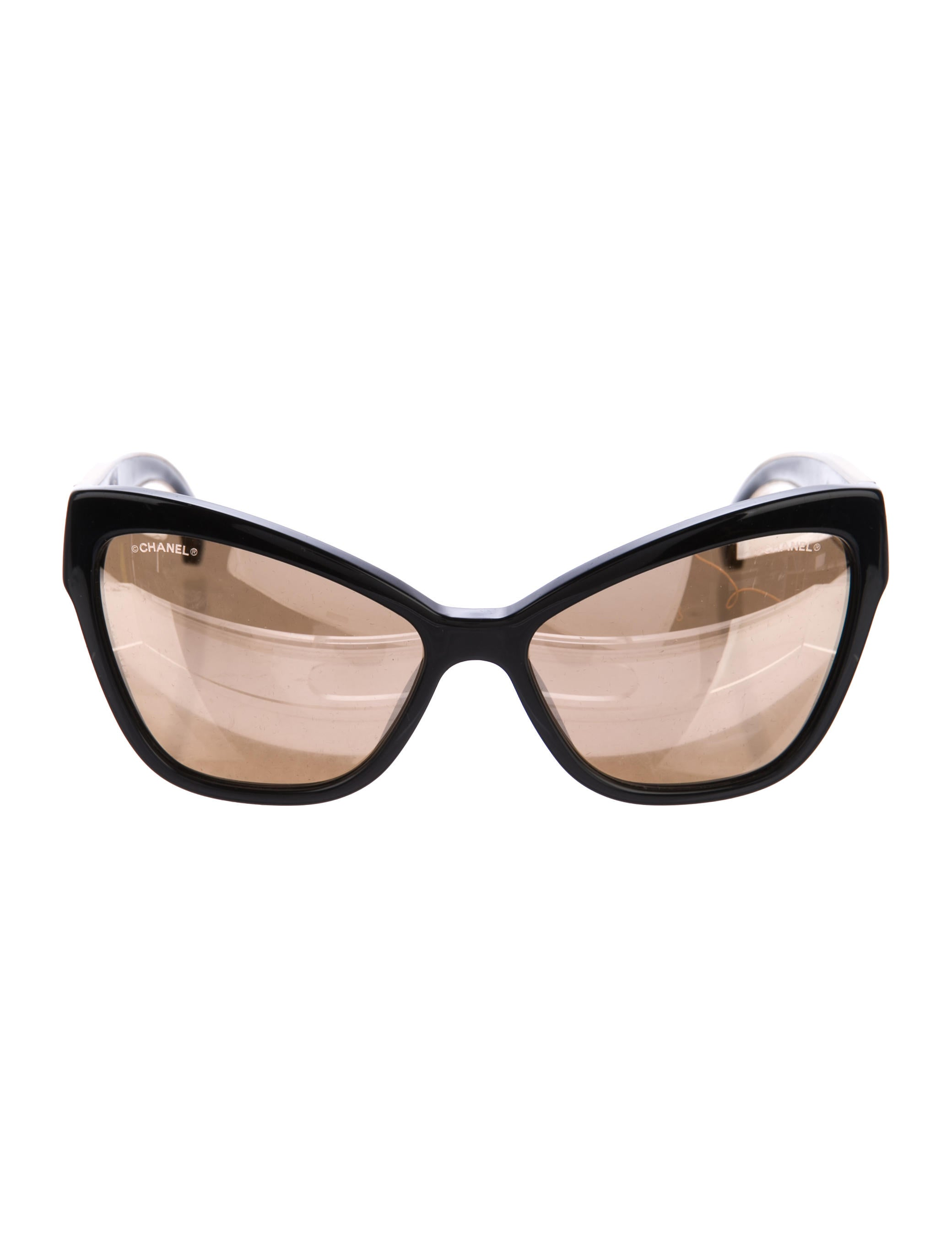 9d599c969 Chanel Mirrored Cat-Eye Sunglasses - Accessories - CHA215345 | The ...