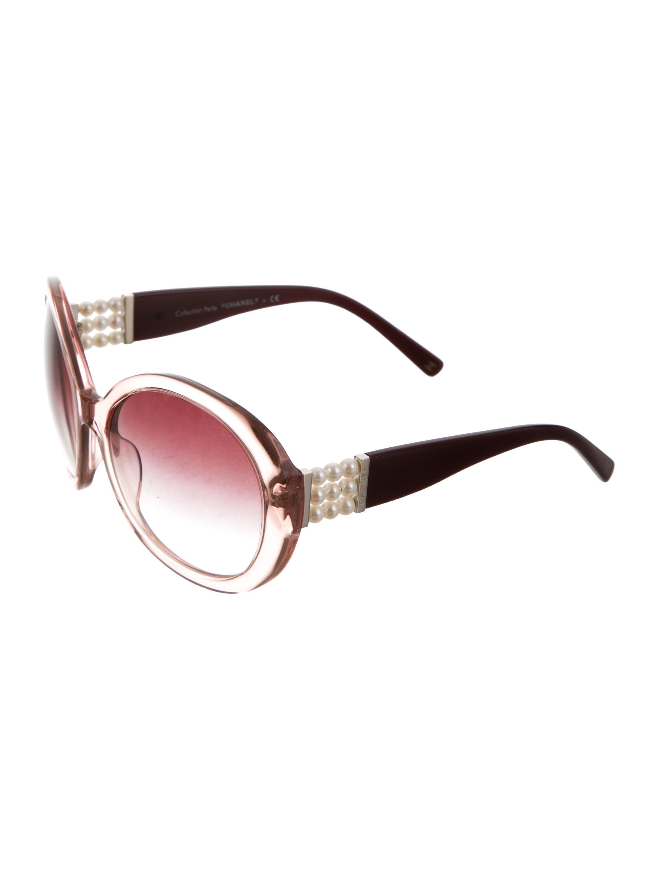 39e61580295 Chanel Round Perle Sunglasses - Accessories - CHA215815