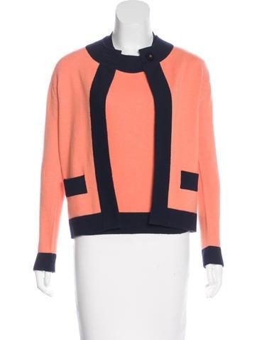 Chanel Vintage Cashmere Cardigan Set None