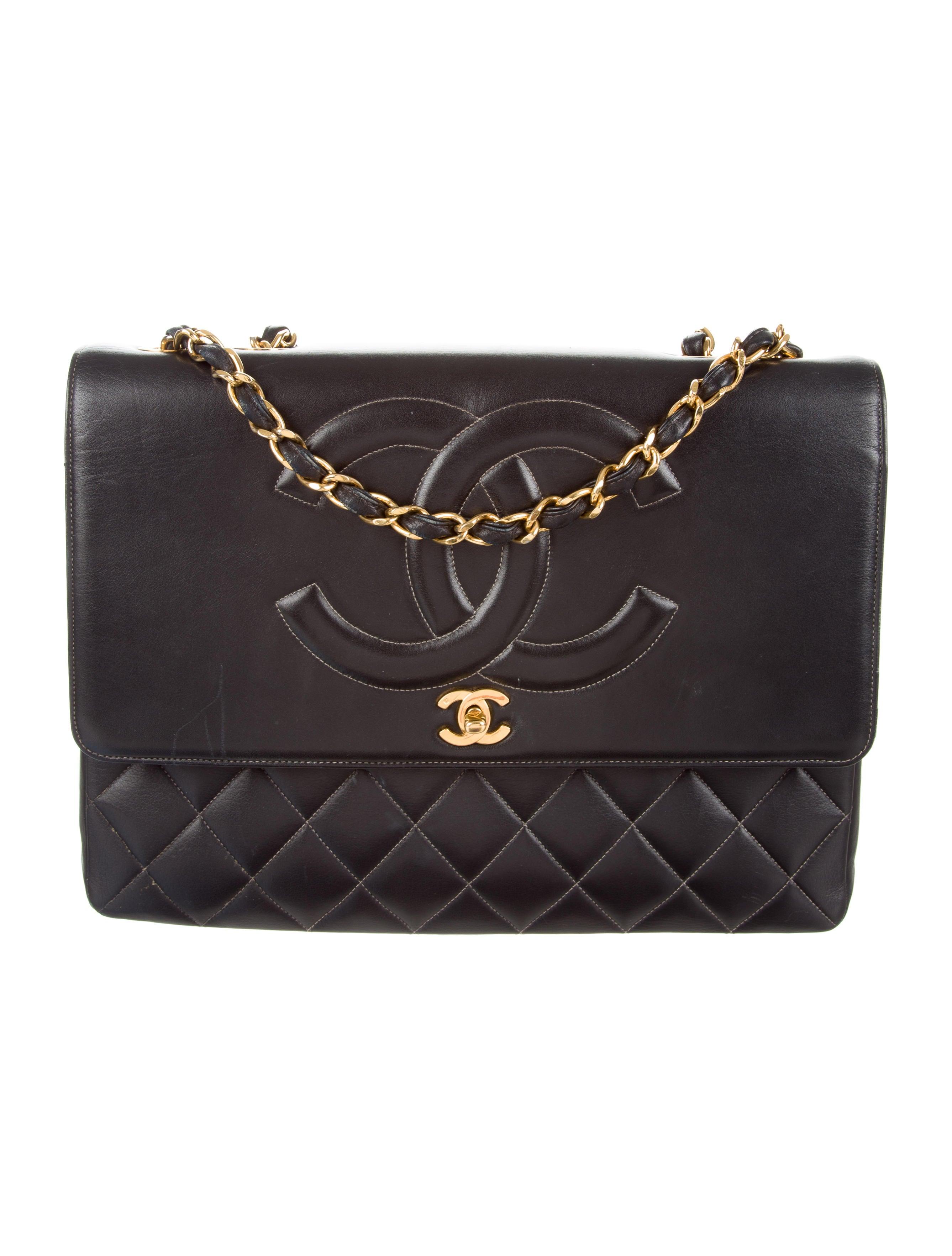 Chanel vintage cc shoulder bag handbags cha216197 - Vintage chanel ...