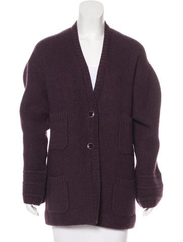 Chanel Cashmere Oversize Cardigan None