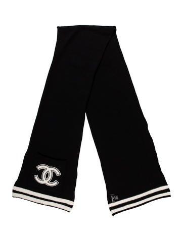 Chanel Cashmere CC Pocket Scarf None