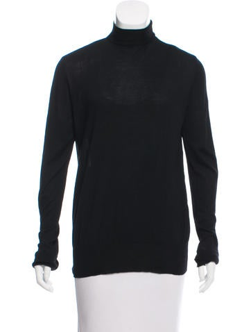 Chanel Turtleneck Wool Sweater None