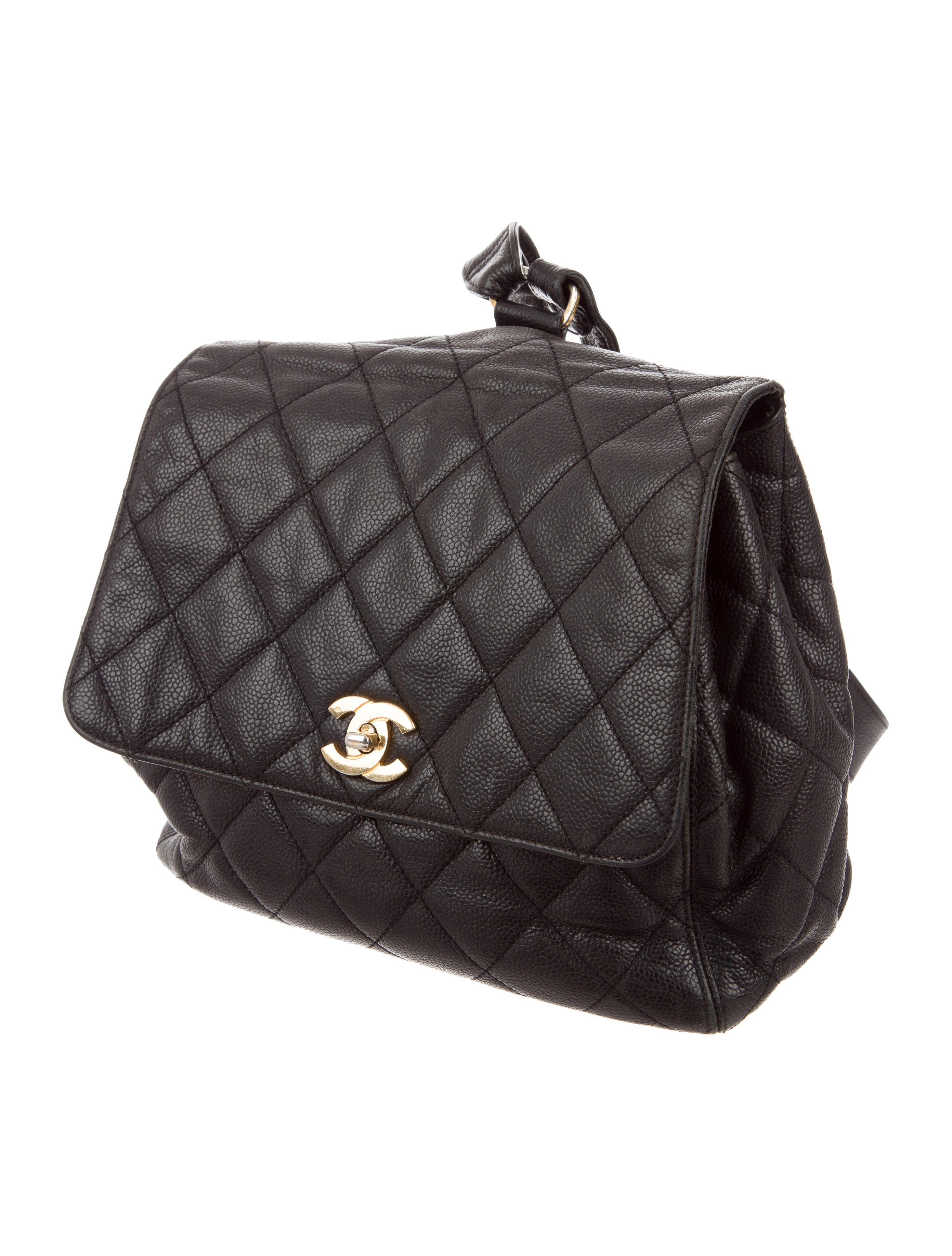 878d0471ec4f Chanel Vintage Leather Quilted Backpack- Fenix Toulouse Handball