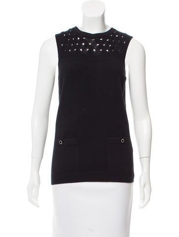 Chanel Paris-Edinburgh Cashmere Top w/ Tags None