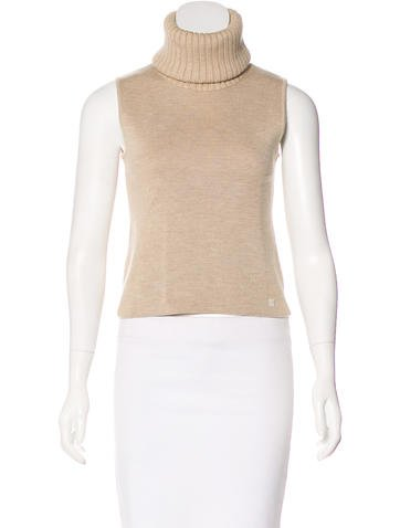 Chanel Knit Wool Top None