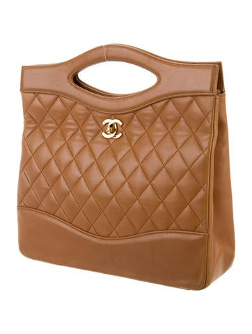 Chanel Vintage Quilted Chain Bag Handbags Cha220234 The Realreal