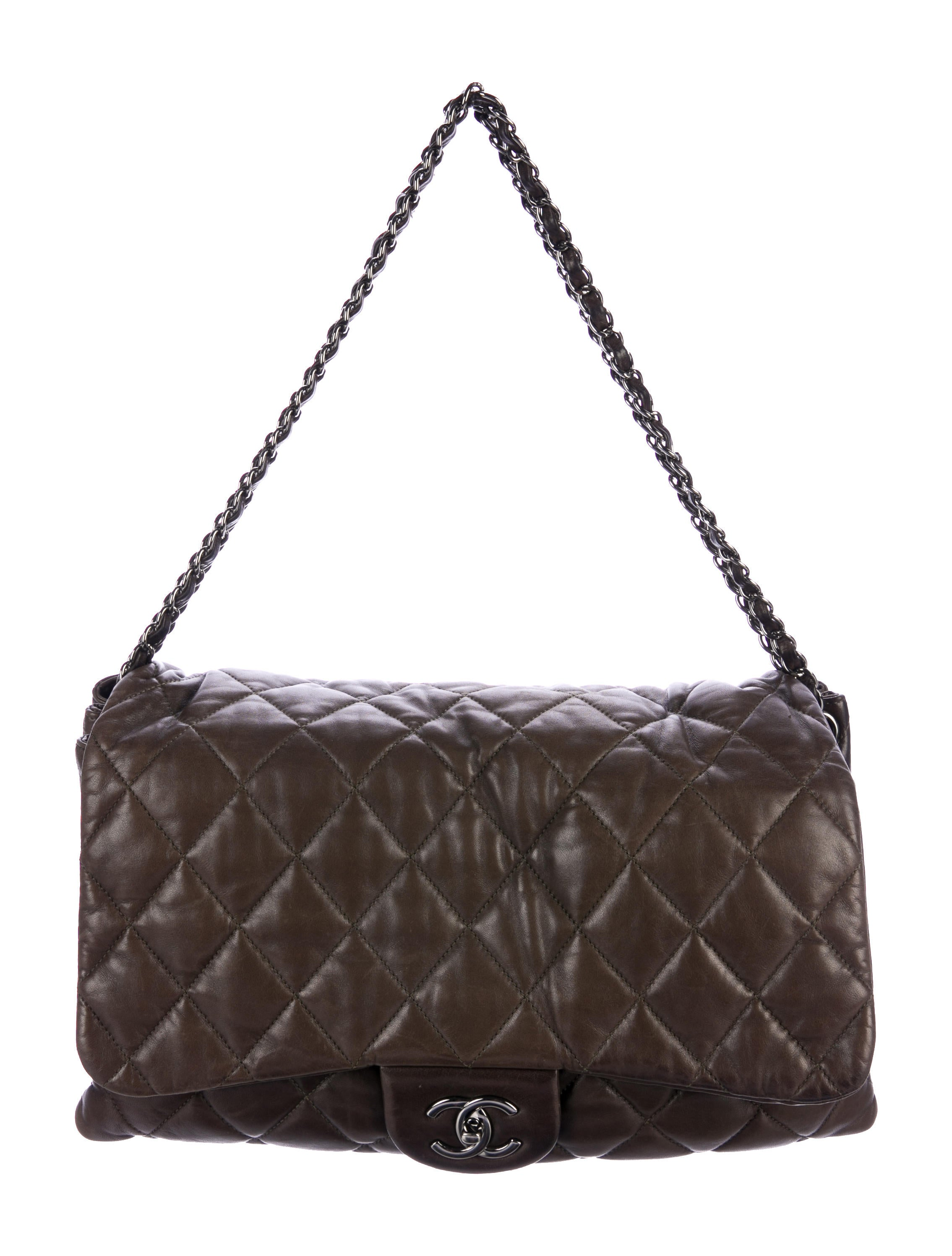 5483d79ee70b Chanel XXL Airline Classic Flap Bag - Handbags - CHA109951 | The ...