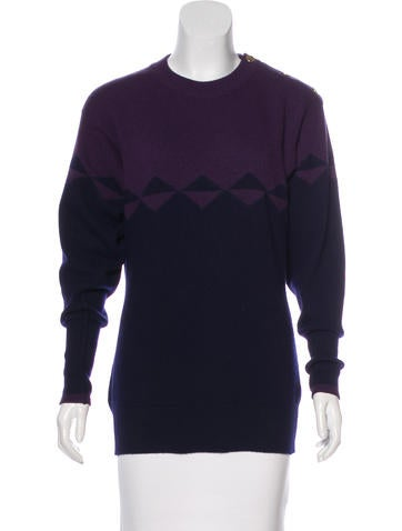 Chanel Vintage Cashmere Sweater None