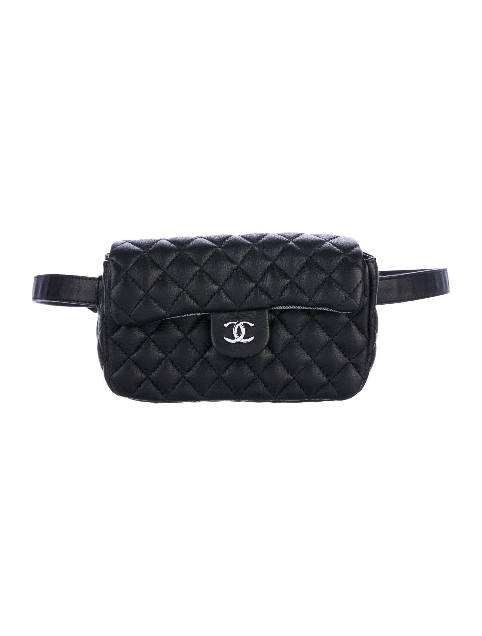 d0f71d61368761 Chanel Uniform Quilted Waist Bag - Handbags - CHA221508   The RealReal