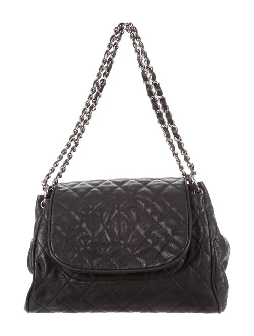 5f28e57e0b3f Chanel Caviar Timeless Accordion Flap Bag - Handbags - CHA221648 ...