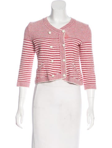 Chanel Silk-Blend Tweed Jacket None