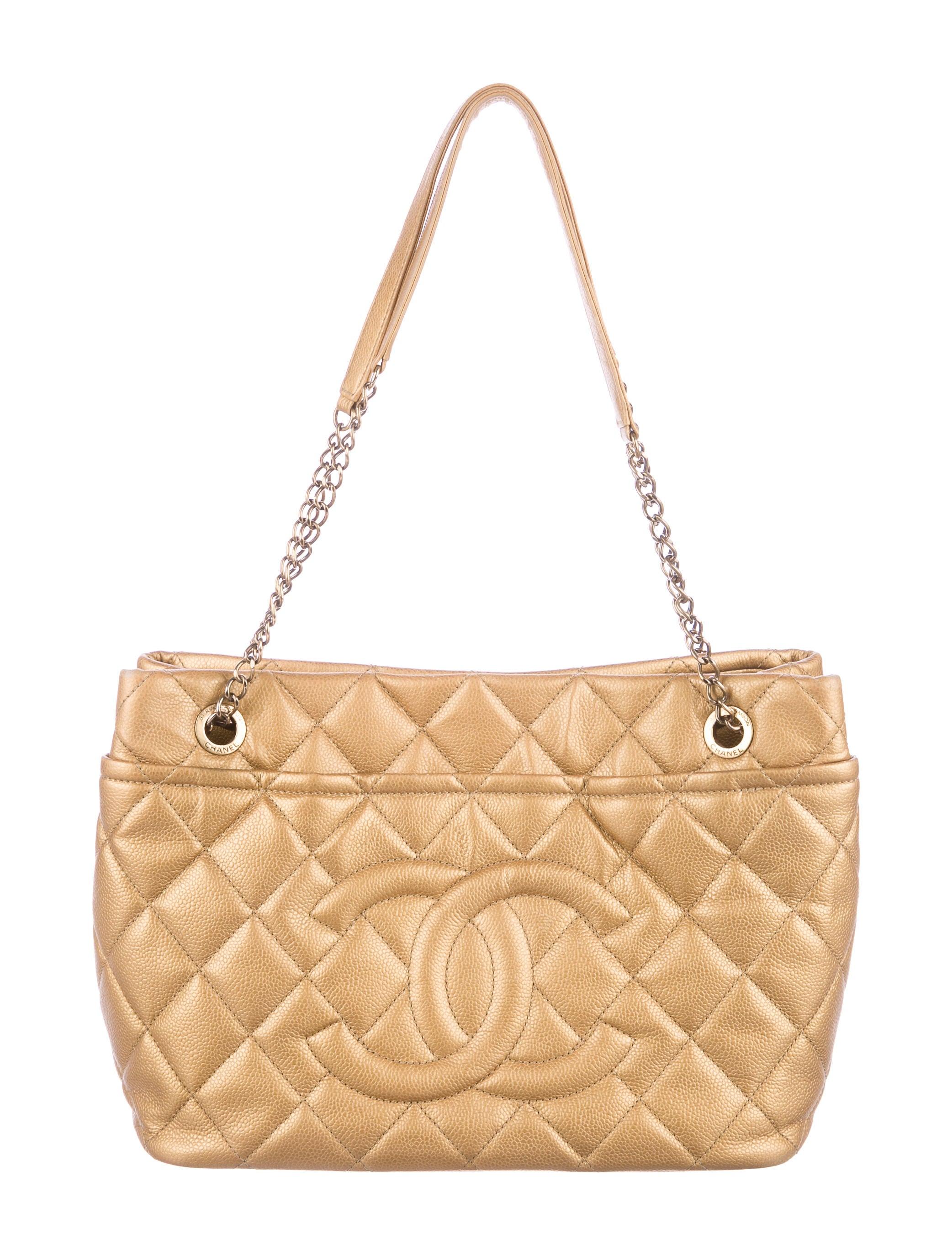 Chanel Caviar Timeless Soft Shopper Tote - Handbags - CHA221918 ... 5ca84130d8dac
