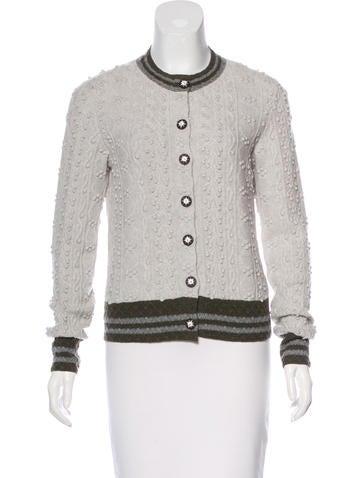 Chanel Paris-Salzburg Cashmere Cardigan None
