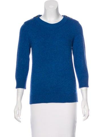 Chanel CC Cashmere Sweater None