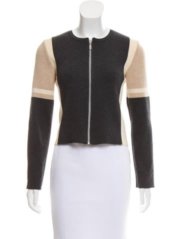 Chanel Wool Colorblock Sweater None
