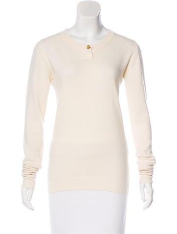 Chanel Vintage Cashmere Sweater None