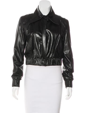 Chanel 'Ladies First' Leather Jacket None