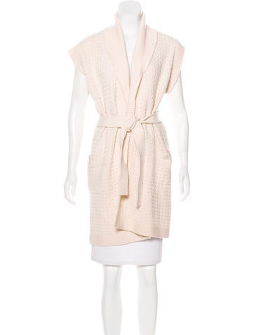 Chanel Cashmere Knit Cardigan None