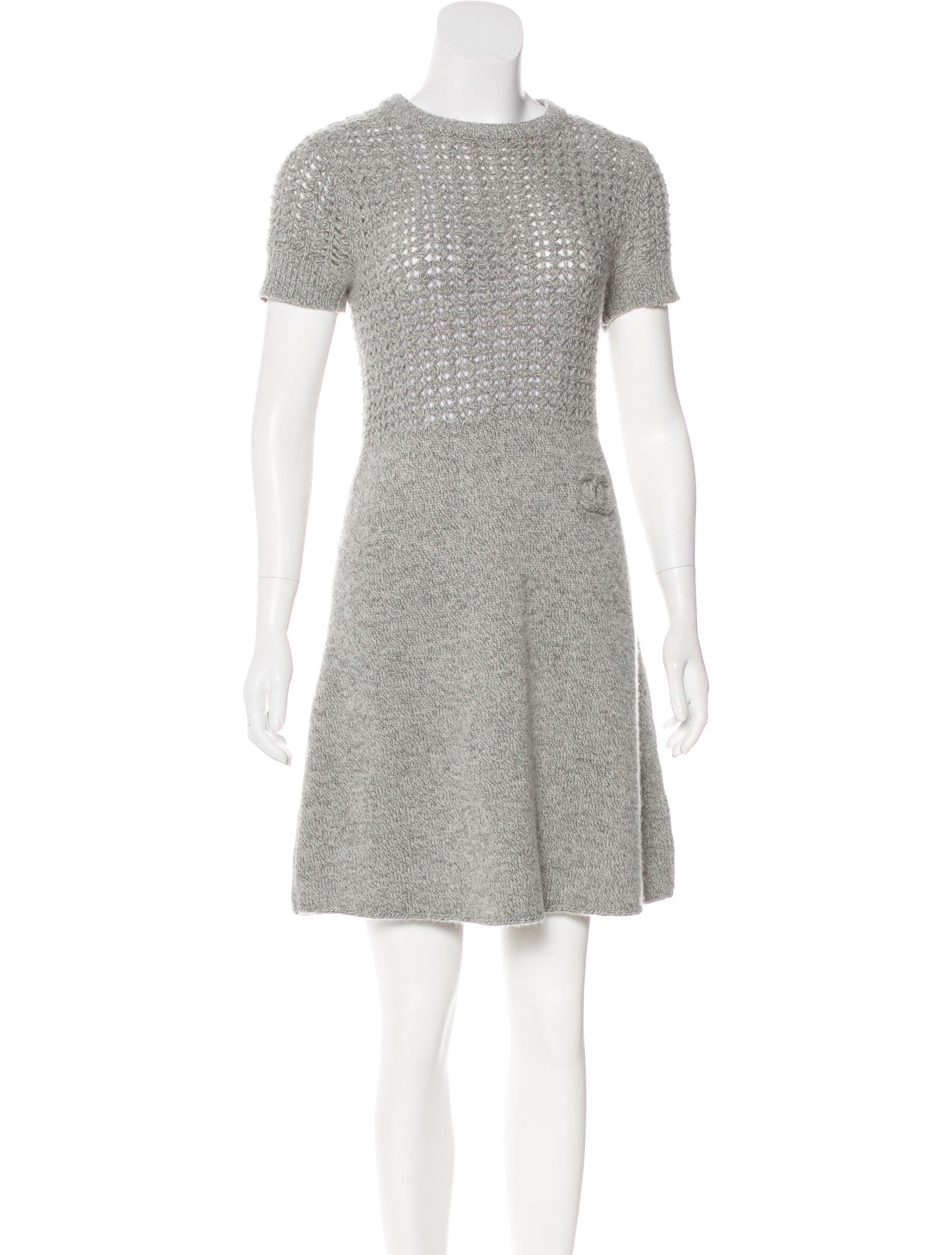 Chanel Sport Wool Dress - Clothing - CHA223806