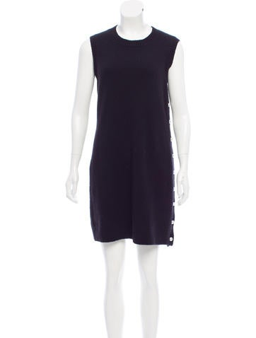 Chanel Cashmere-Blend Dress None