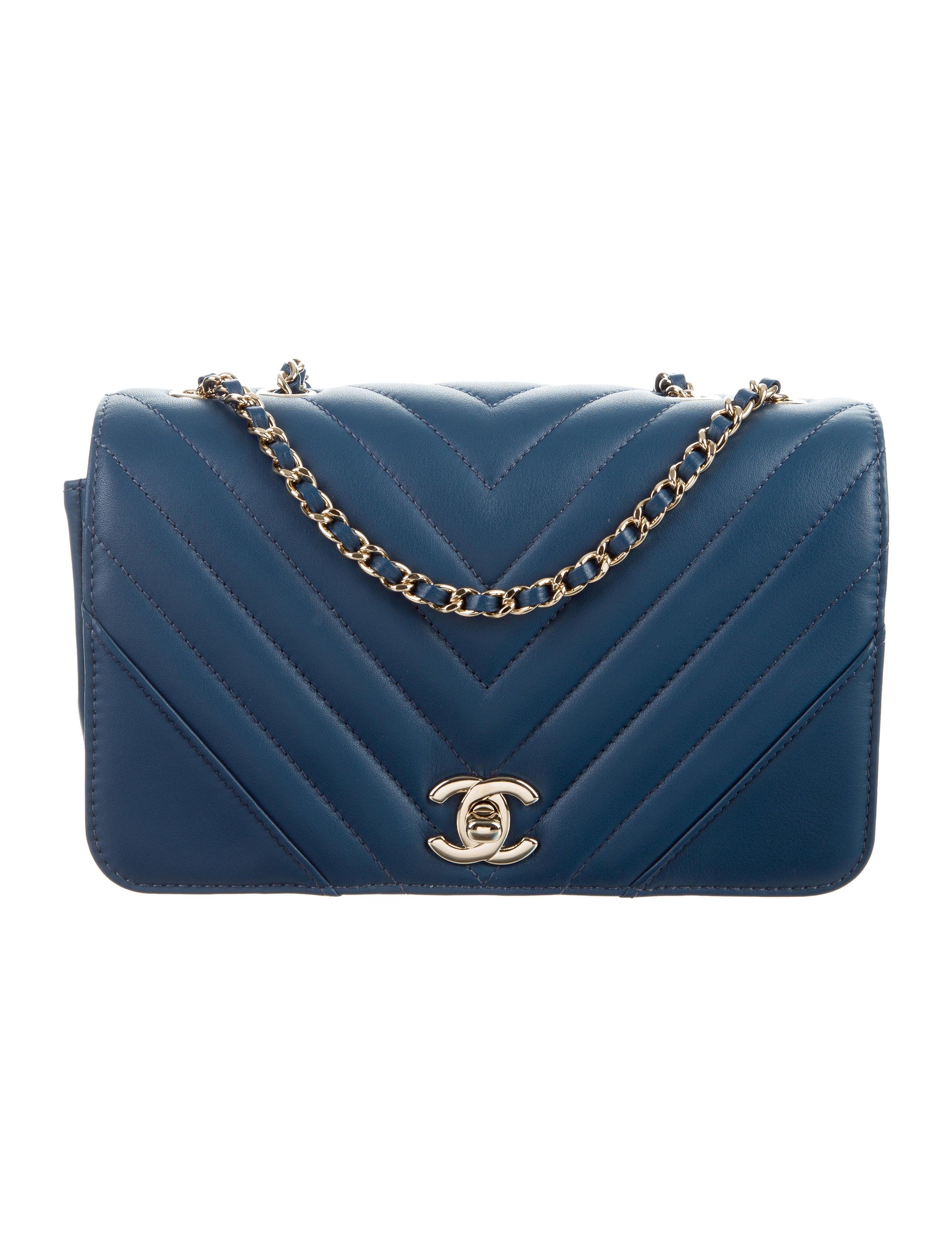 b144191ab Chanel 2017 Chevron Statement Flap Bag - Handbags - CHA224429 | The RealReal