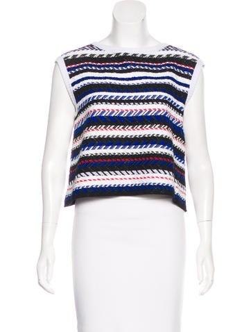 Chanel 2016 Tweed Crop Top None
