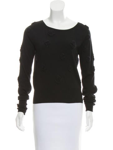 Chanel Cashmere-Blend Top None