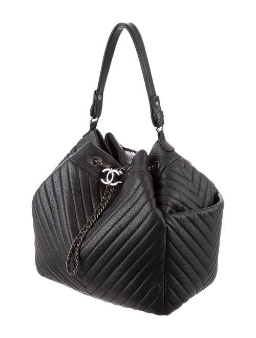 354bacd4e912 Chanel 2016 Chevron Large Chain Buckle Bag - Handbags - CHA225152 ...