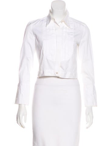 Chanel Vintage Button-Up Top None