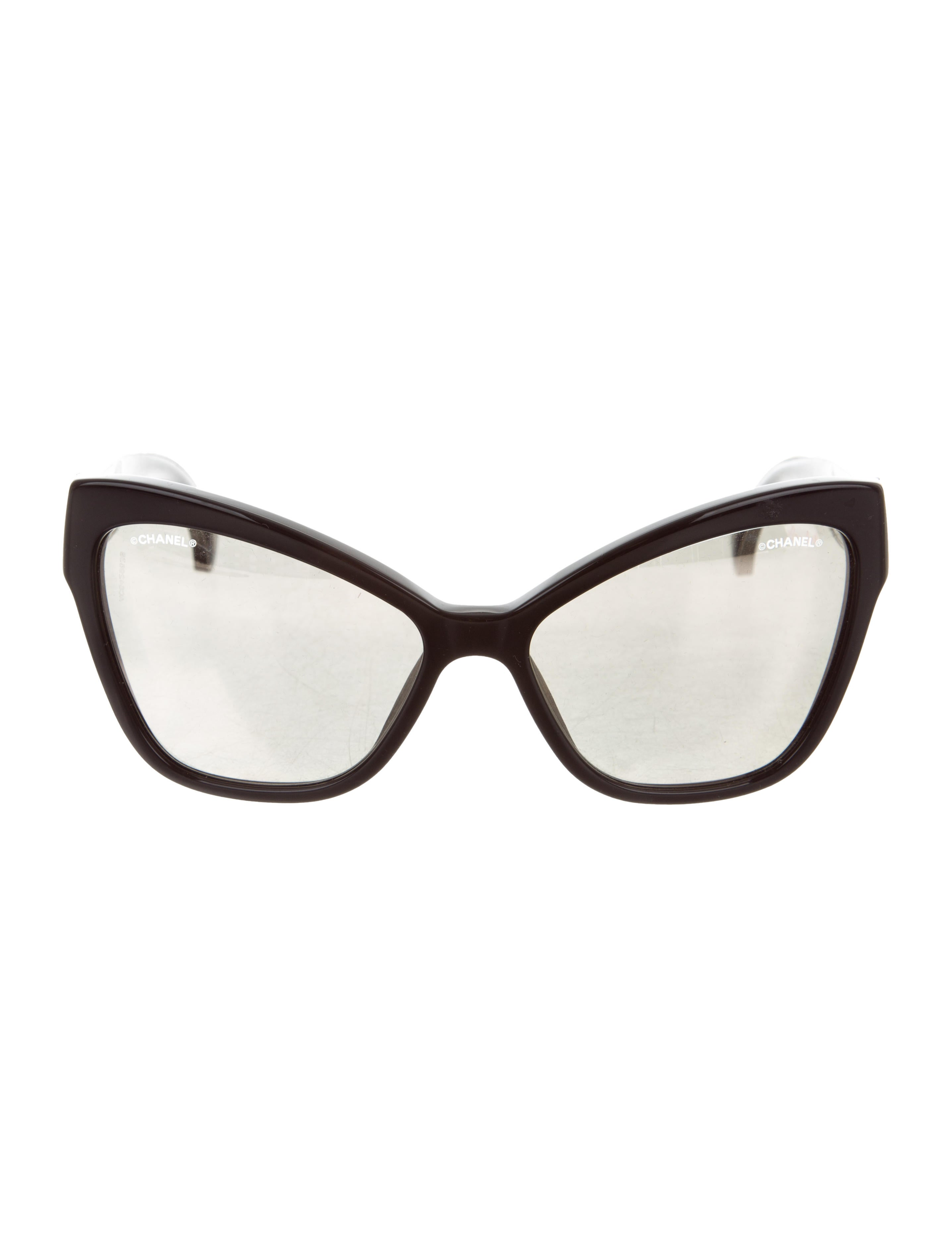 d98c08d94 Chanel CC Cat-Eye Sunglasses - Accessories - CHA226454 | The RealReal