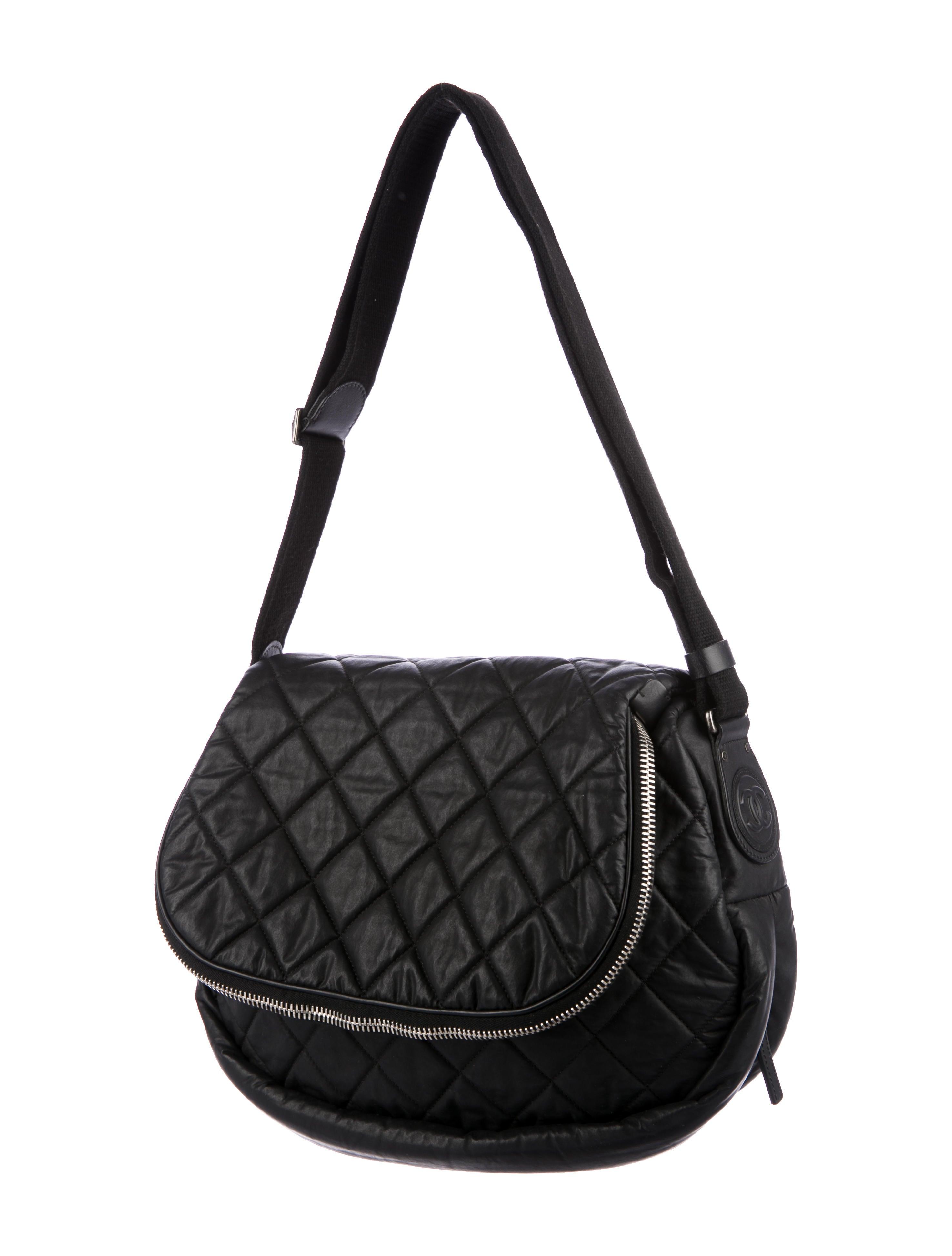 Chanel Coated Canvas Expandable Messenger Bag - Handbags - CHA226764 ... 315d90f1f02a0