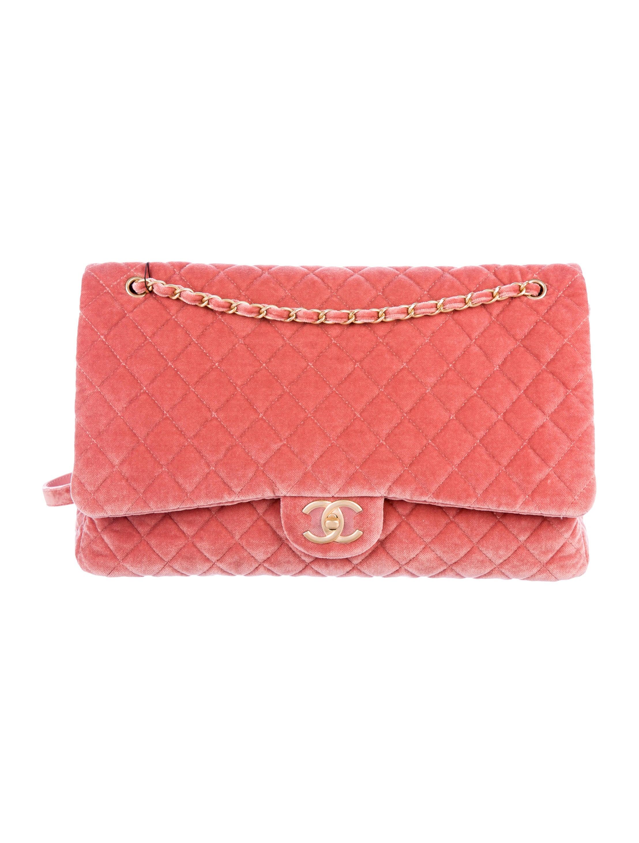 566c8e812e9a52 Chanel 2017 XXL Airline Classic Flap Bag - Handbags - CHA227000 | The  RealReal
