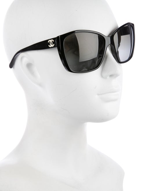 f9cb1090d6701 Chanel Glitter CC Sunglasses - Accessories - CHA227008