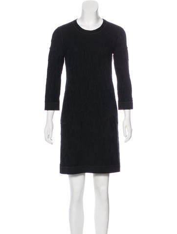 Chanel Paris-Byzance Wool Dress None