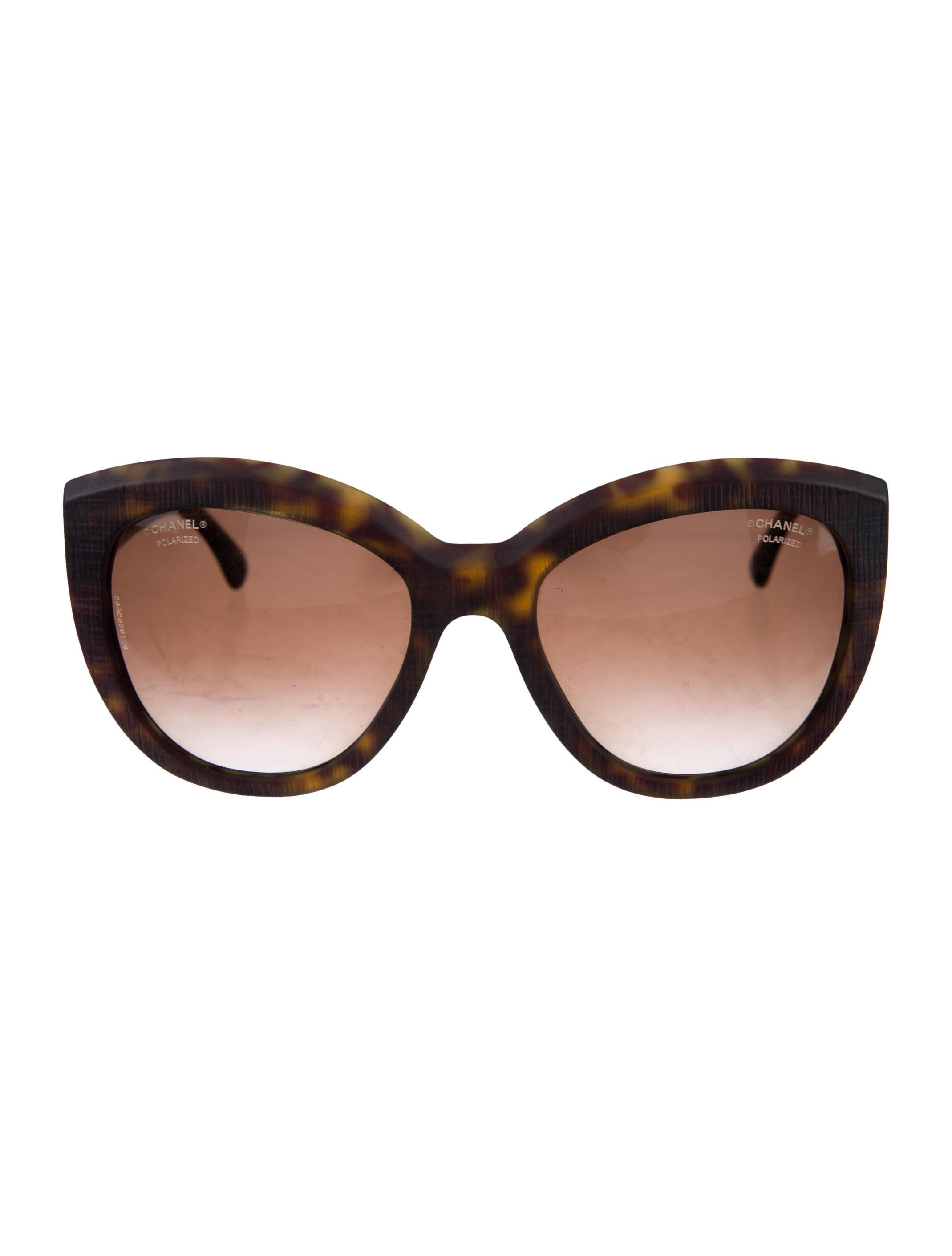 b7dd4c02f4 Chanel Butterfly Signature Sunglasses - Accessories - CHA227972 ...