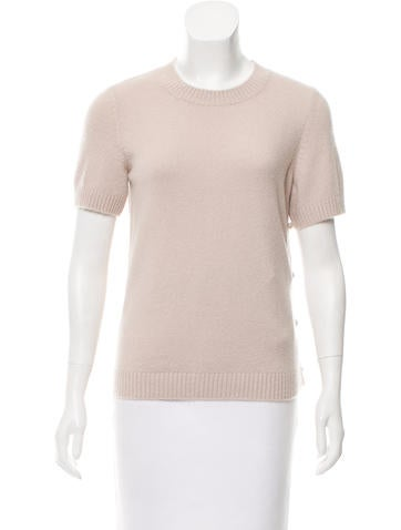 Chanel Textured Embellished Top w/ Tags None