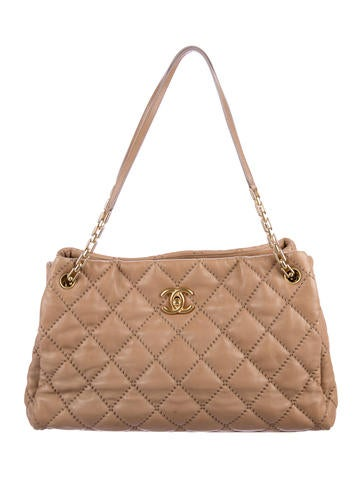 Chanel Large Retro Chain Shopper Tote None