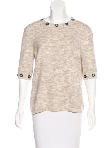 Chanel 2016 Cashmere Top None