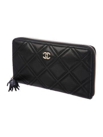 2017 Paris-Cosmopolite Tassel Large Zip Wallet