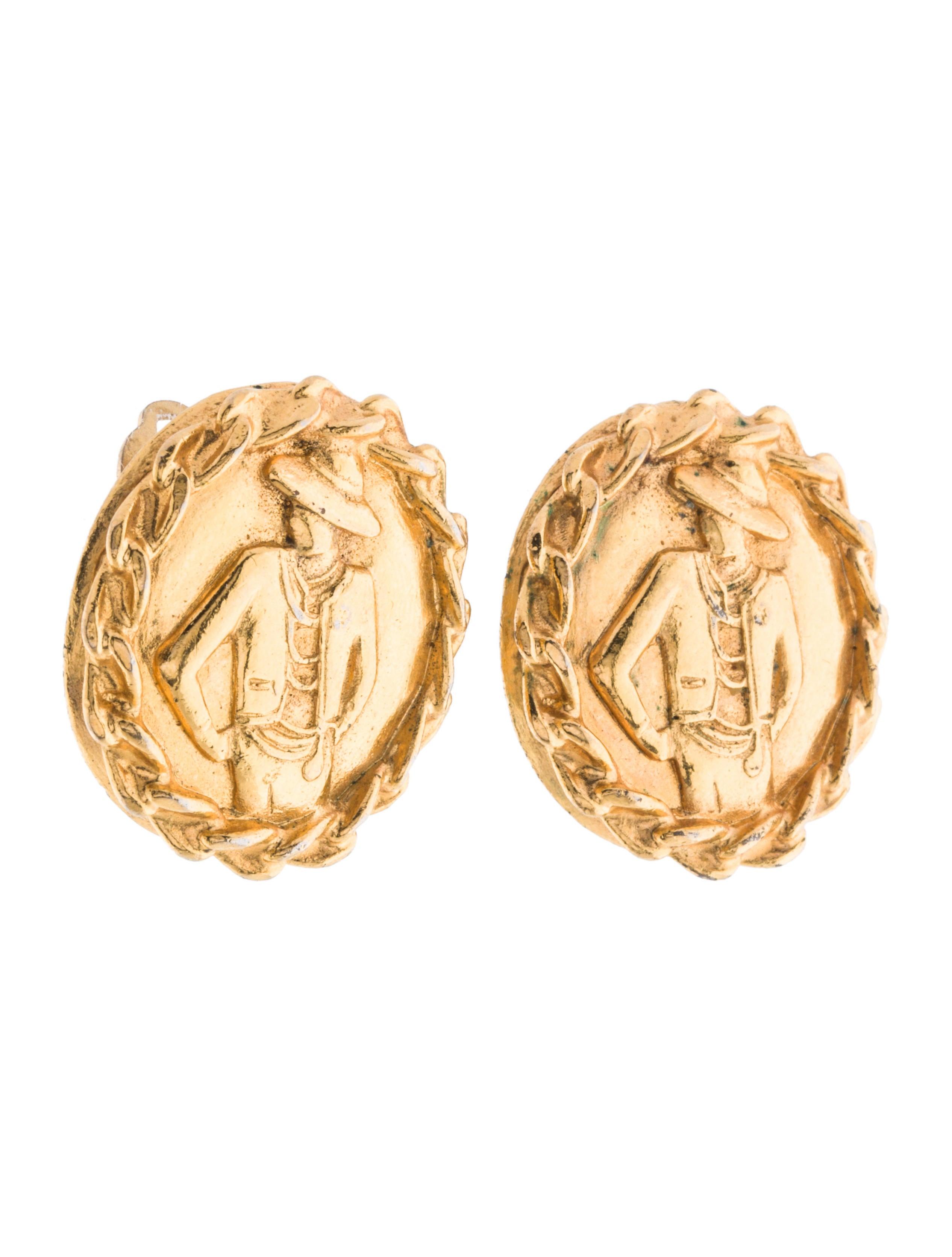 Mademoie Coco Chanel Earrings