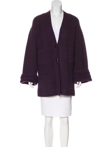 Chanel Cashmere Longline Cardigan w/ Tags None
