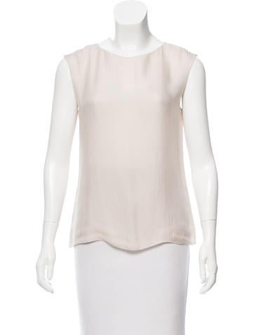 Chanel Silk Sleeveless Top w/ Tags None