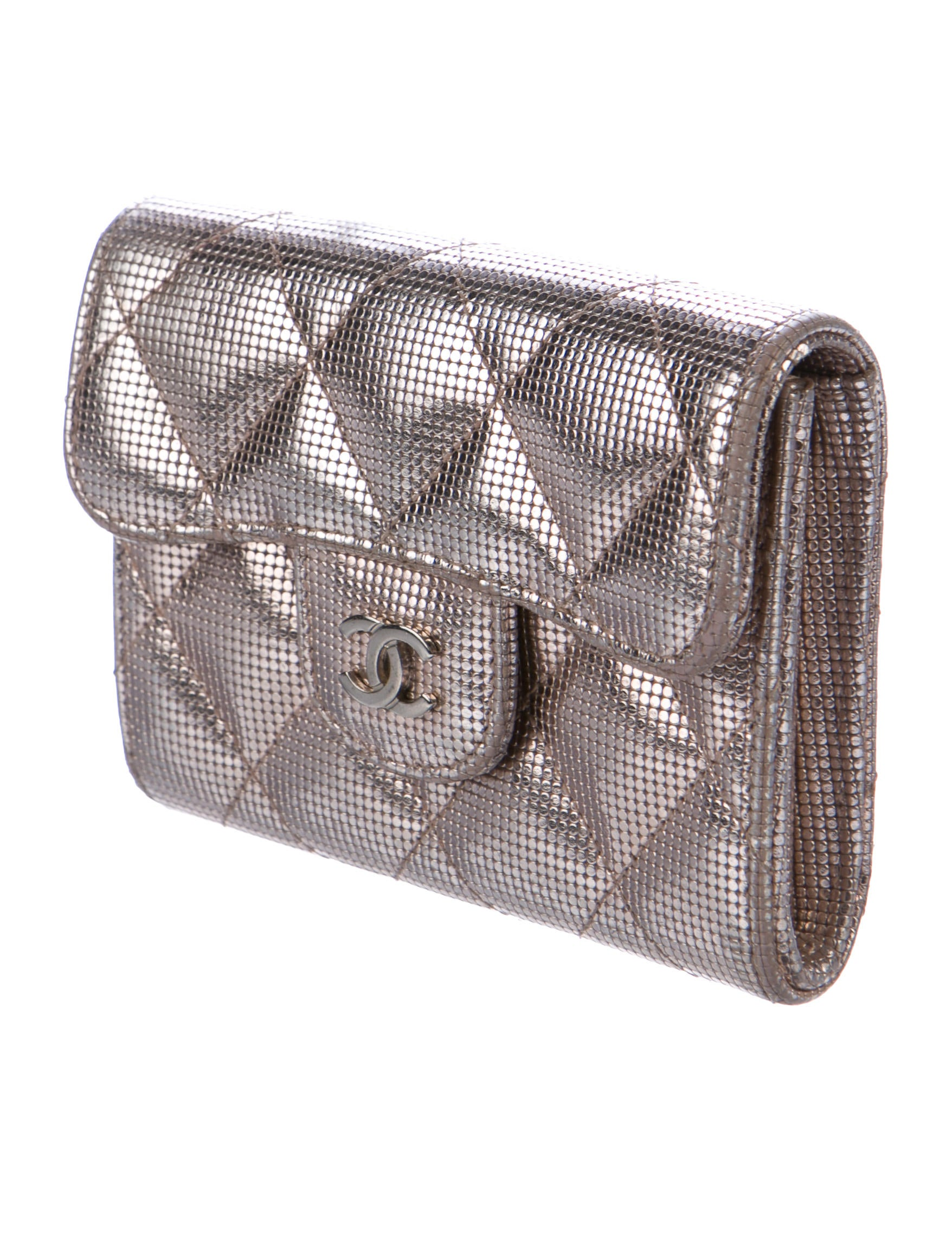Chanel Metallic Business Cardholder - Accessories - CHA235326 ...