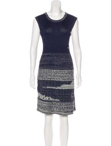 Knit A-Line Dress
