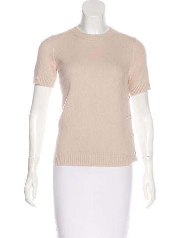 Chanel Cashmere-Blend Knit Top None