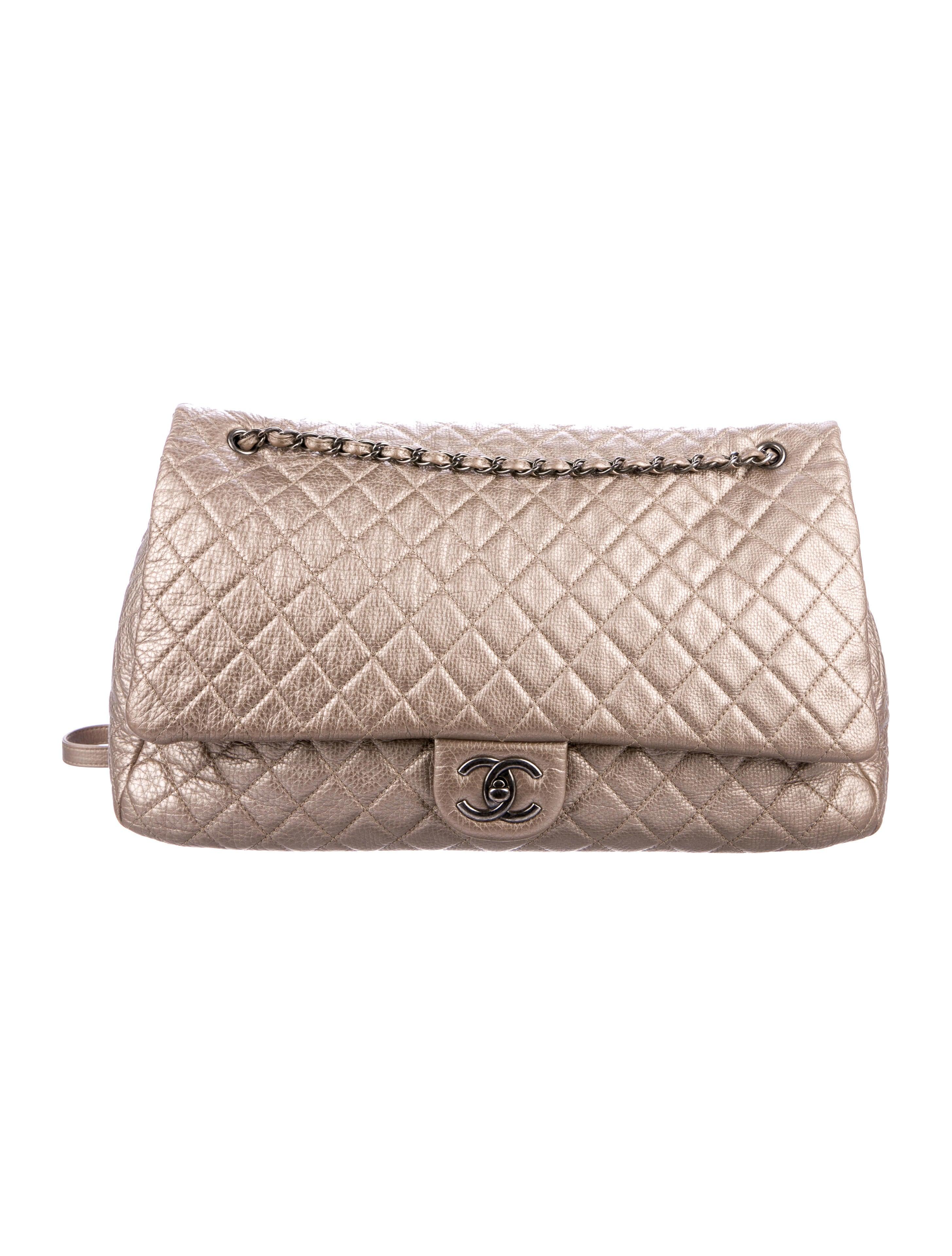 62720bee5fac21 Chanel XXL Airline Classic Flap Bag - Handbags - CHA236983 | The ...