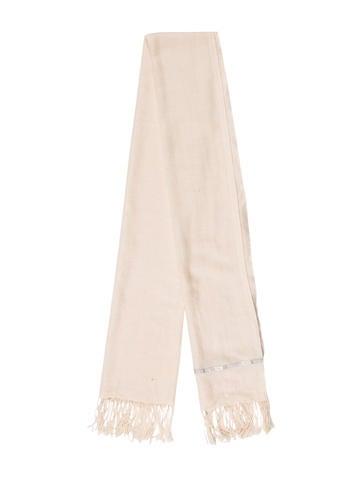 Chanel Cashmere & Silk Stole None